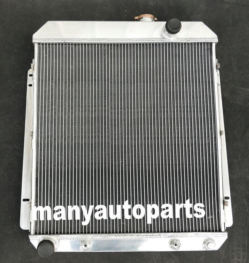 62MM para BUICK especial/Roadmaster/Century/Super/1954-1956 1955 radiador de aluminio