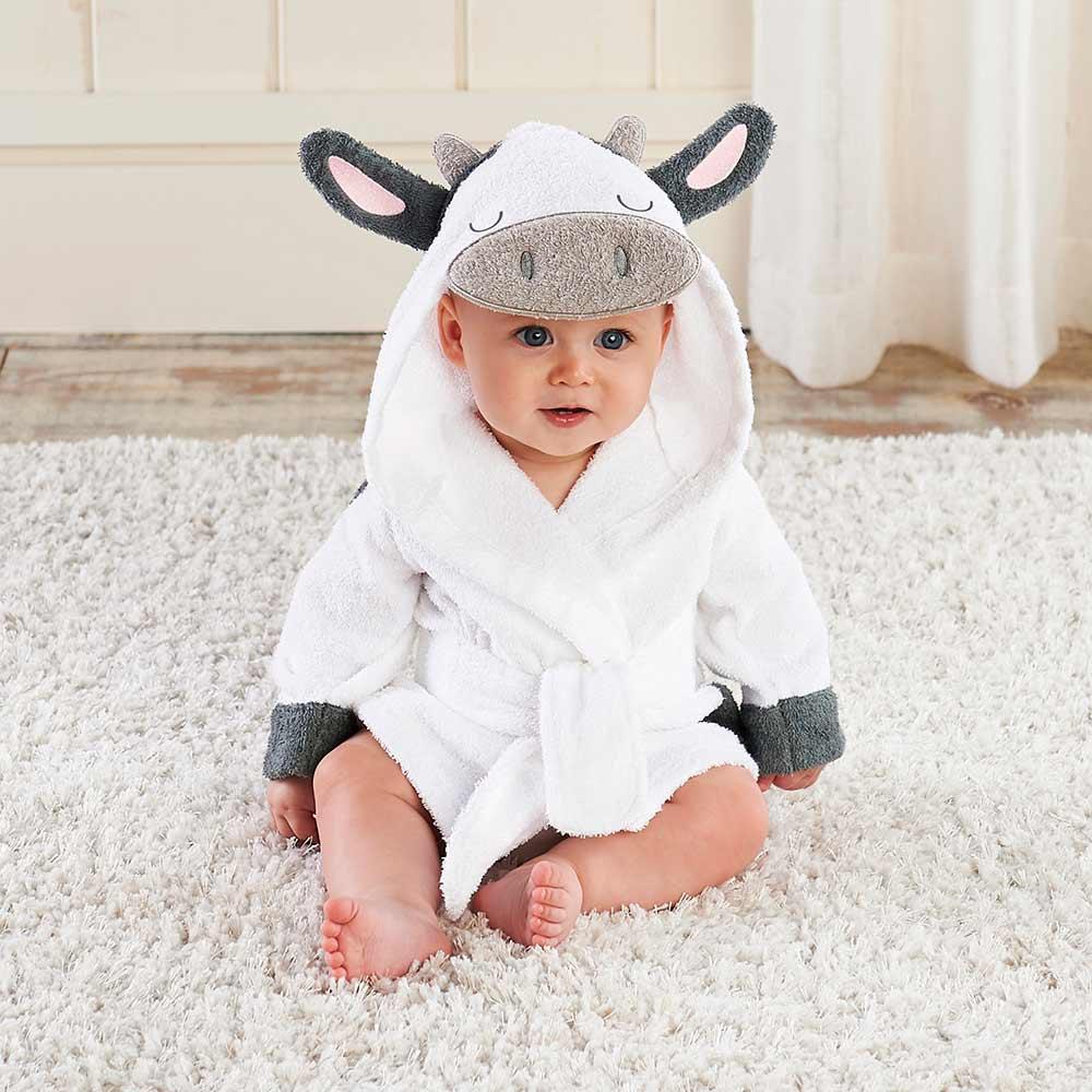 Розничная продажа, 16 дизайнов, детское банное полотенце с капюшоном, купальный халат с рисунком животных, детские пижамы с рисунком