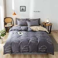 yaapeet twin size europe 34pcs bedding set bedroom luxury pretty breathable bedding linens dobby duvet cover pillowcase sets