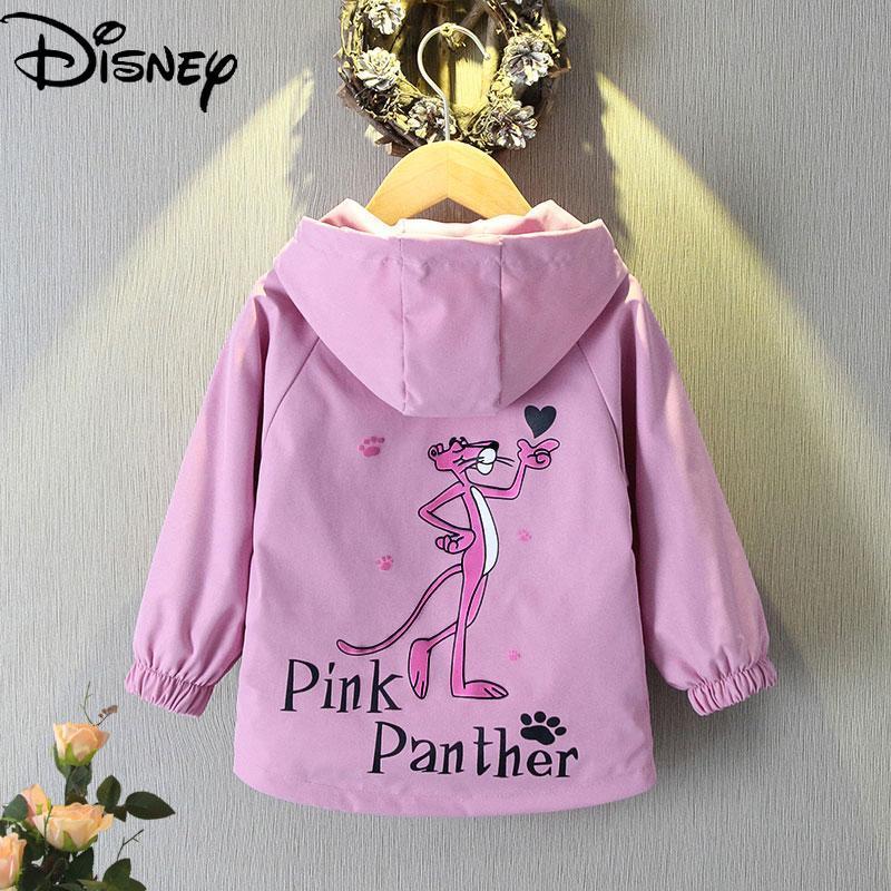 Disney Pink Panther 2021 New Autumn Windbreaker Children's Clothing Children's Jacket Girls Spring a