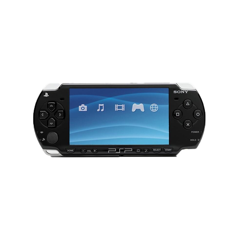 Sony-consola PSP 1000 reacondicionada, Original, portátil, con batería y tarjeta de memoria de 16GB