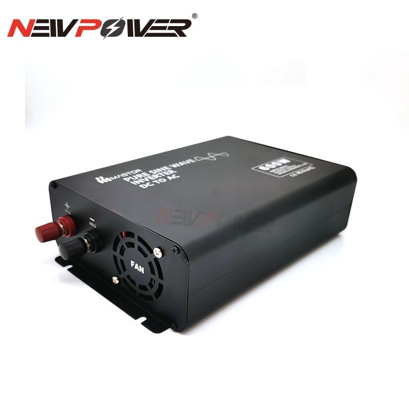 مكتب استخدام مع LCD العاكس محول طاقة 600W DC 12V 24V 48V 60V 72V إلى 100V 110V 120V 220V 230V AC الصرفة موجة جيبية العاكس