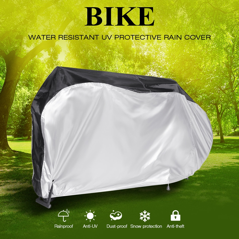 AliExpress - Motorcycle Cover Universal Outdoor UV Bicycle Protector Scooter All Season Waterproof Bike Rain Dustproof Cycling Cover 190T