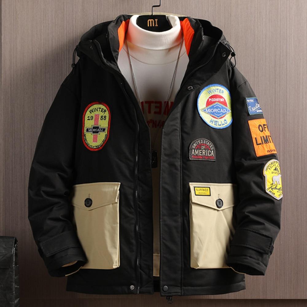 90% Down Jackets Men Women Winter Jacket Fashion Thick Warm Parkas White Duck Down Youth Casual Street Coats Mans Waterproof