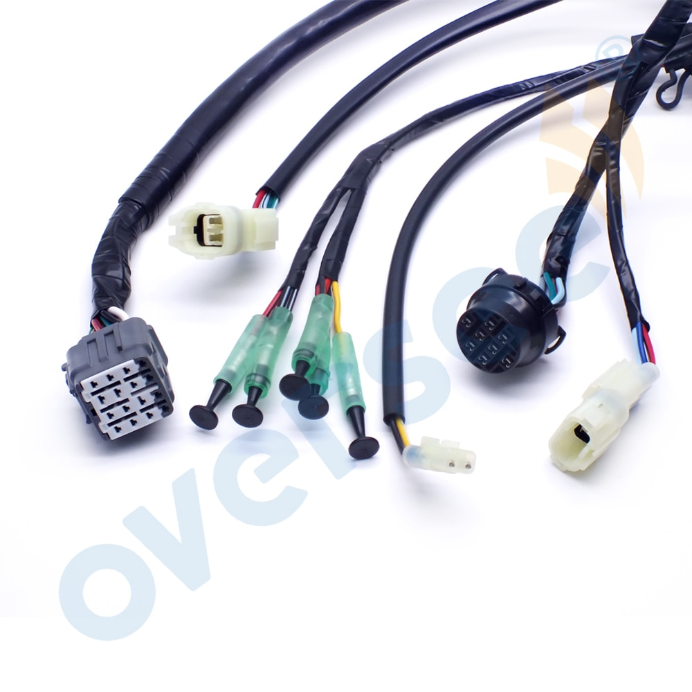 Boat Motor 36620-94J01 Analog Main Wiring Harness NON PT or PTT For SUZUKI Outboard Motor Remote Control Box Wire Assembly enlarge