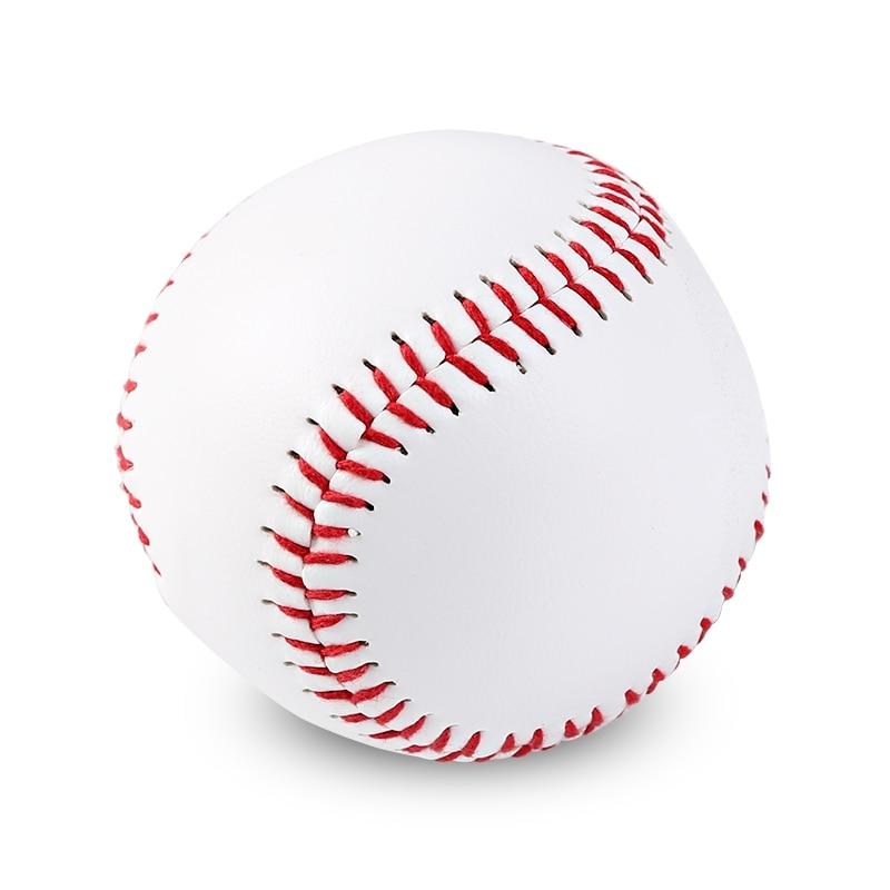 Бейсбол № 9, твердый мяч, тренировочные аксессуары для фитнеса, белый Безопасный детский бейсбол, Мужская тренировка