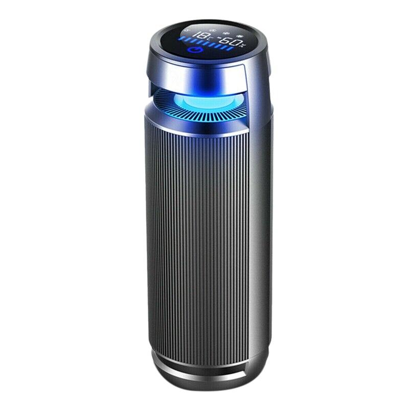 Purificador de aire para coche, ambientador iónico, filtro negativo de aire, Sensor infrarrojo de carga USB, limpiador de aire DC 12V para coche, hogar, oficina