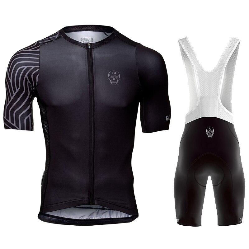GO Rigo Go-Conjunto de Ropa de Ciclismo para hombre, camisetas y pantalones...