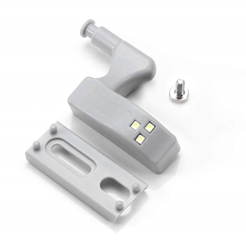 LED Inner Hinge Light Under Cabinet Lamp Universal Wardrobe Light Sensor Led Armario For Cupboard Closet Kitchen Bedroom