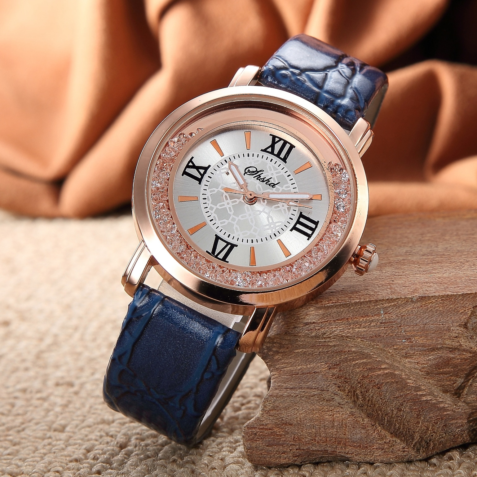 Fashionable casual women's watch white diamond contracted fashion leisure female table student girl