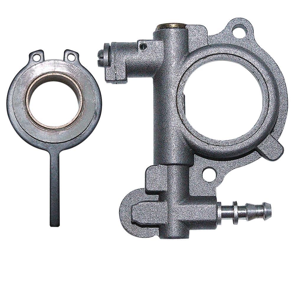 Bomba de óleo worm engrenagem com kit mola para stihl 024 026 ms260 ms240 motosserra substituir 1121 007 1043