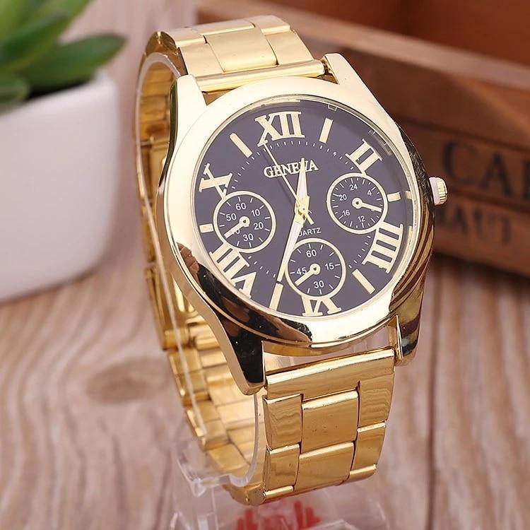 Relogio Feminino New Famous Brand Women Gold Stainless Steel Quartz Watch Luxury Casual Analog Clock Hot Sale Reloj Mujer