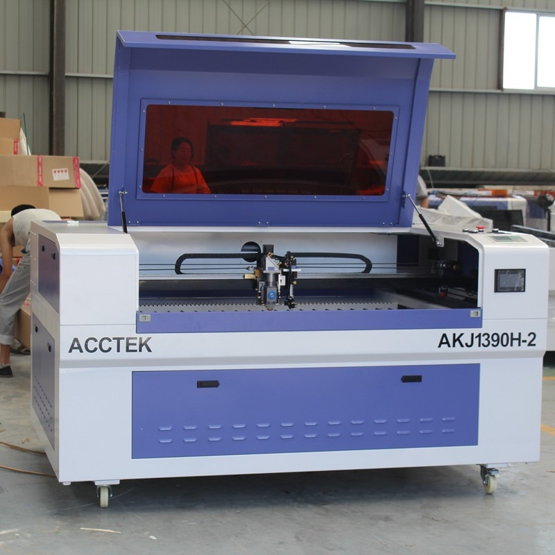 Metal And Nonmetal Lasar Machine Laser Cutting Engraving With CE enlarge