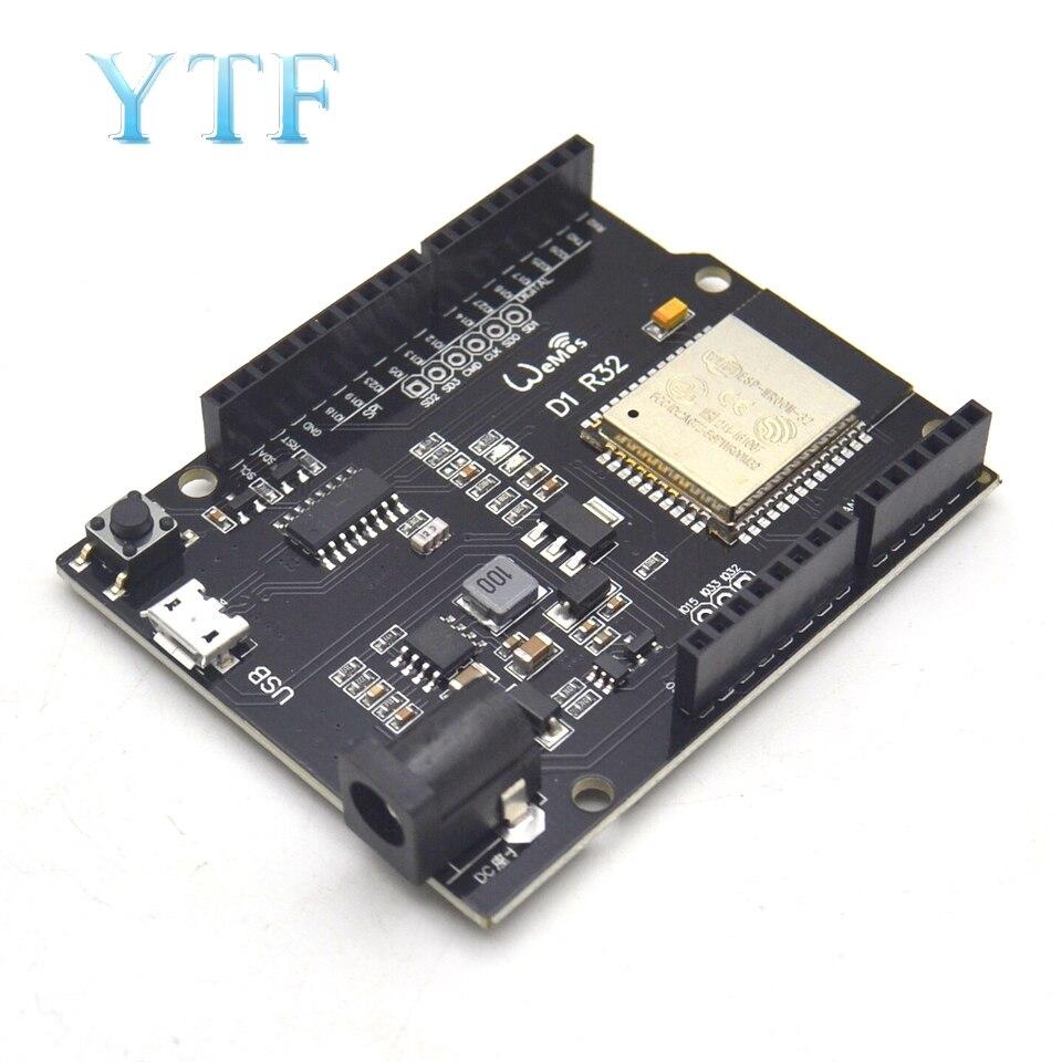 WiFi и Bluetooth esp32 4MB flash UNO D1 R32 для Arduino