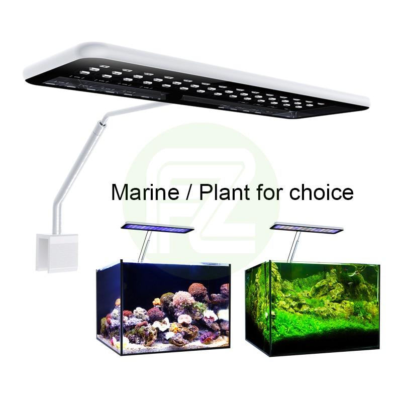 Get Fzone MicMol iPhone Style Aquarium Full Spectrum Led Light for Aquacping Tanks Fresh/Marine for Choice