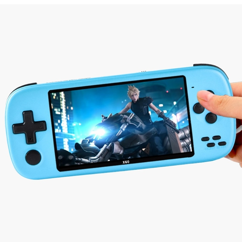 Portable Handheld Video Game Console 4.3 inches Handheld Game Console Support FC/GB/GBA/MD/NES/SFC enlarge