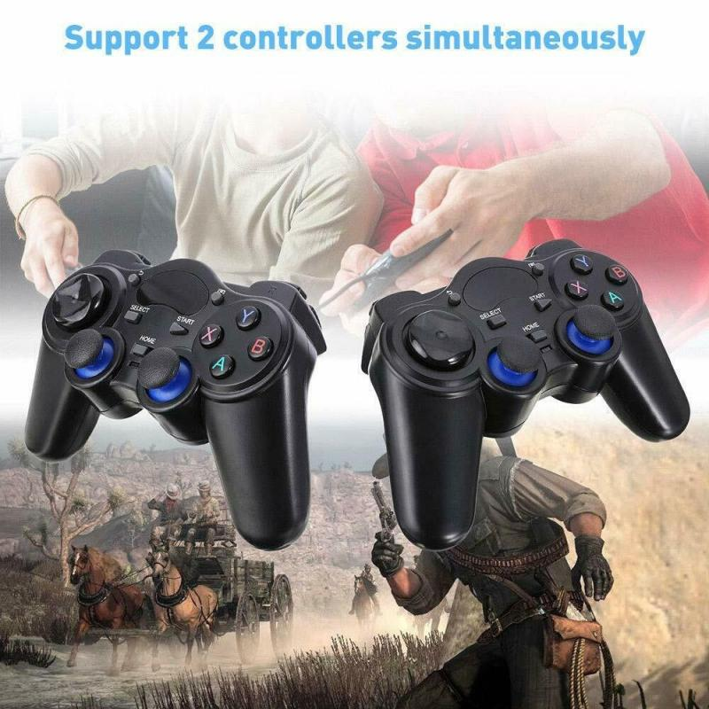 2.4G Wireless Controller Gaming Gamepad With Nano Receiver Joystick For Android Tablet Phone PC TV G