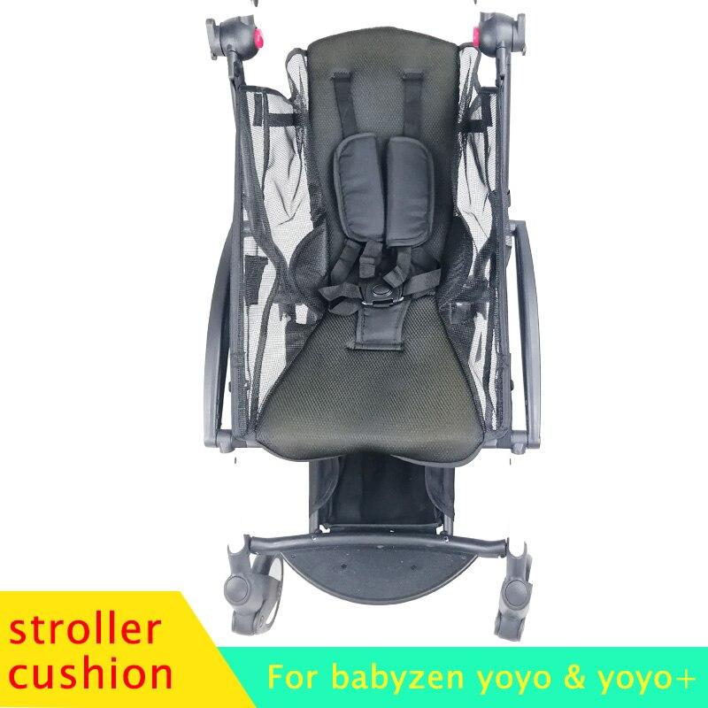 Carrinho de bebê verão almofada assento respirável macio 175 almofada acessórios para babyzen yoyo babytime yoya pushchair