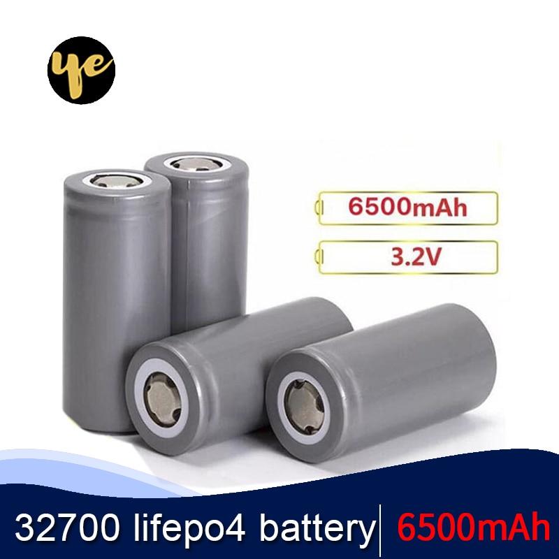 OYE 32700 3.2 v 6500 mAh lifepo4 נטענת סוללה תא LiFePO4 5C פריקה סוללה עבור גיבוי כוח פנס