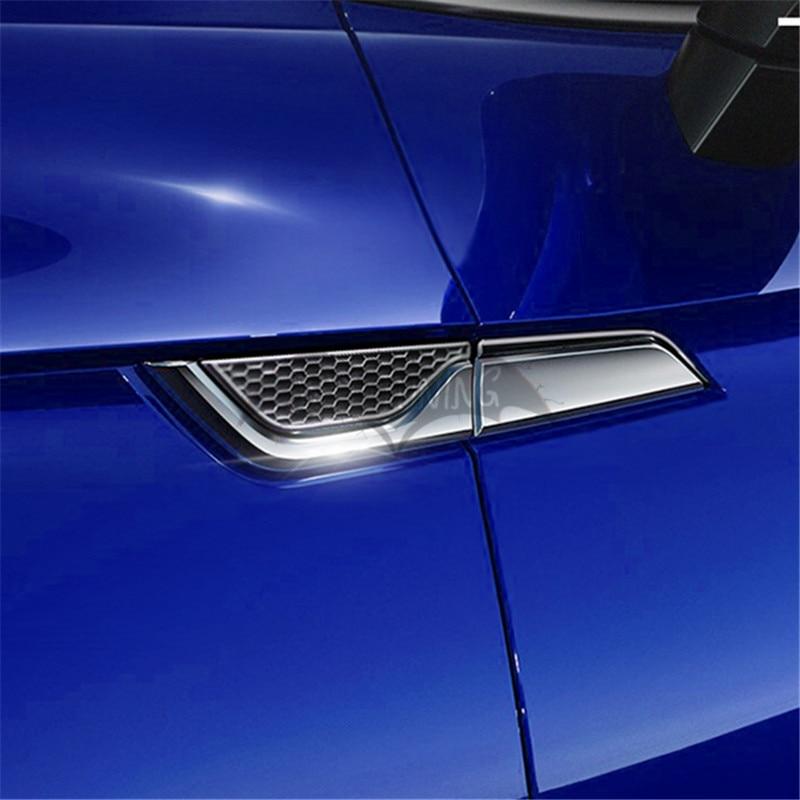 ملصقات باب جانبية من الكروم ABS ، لأودي A1 A3 A4 A5 A6 A7 A8 Q2 Q3 Q5 Q7 Q8 ، شعار شبكي على شكل قرص العسل ، ملحقات السيارة