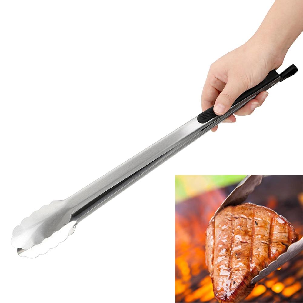 Принадлежности для барбекю, салата, еды, зажим для барбекю, щипцы из нержавеющей стали, кухонные инструменты, многофункциональные инструменты для гриля, зажим для приготовления пищи, принадлежности для барбекю