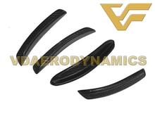 Suitable For 08-11 12-16 Audi RS5 VAD-RS Carbon Fiber Front Bumper Add On Splitter Spoiler Apron Canards