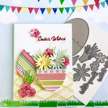 Cutting dies Easter set Scrapbook Cardmaking PaperCraft Surprise Creation dies DIY stencil