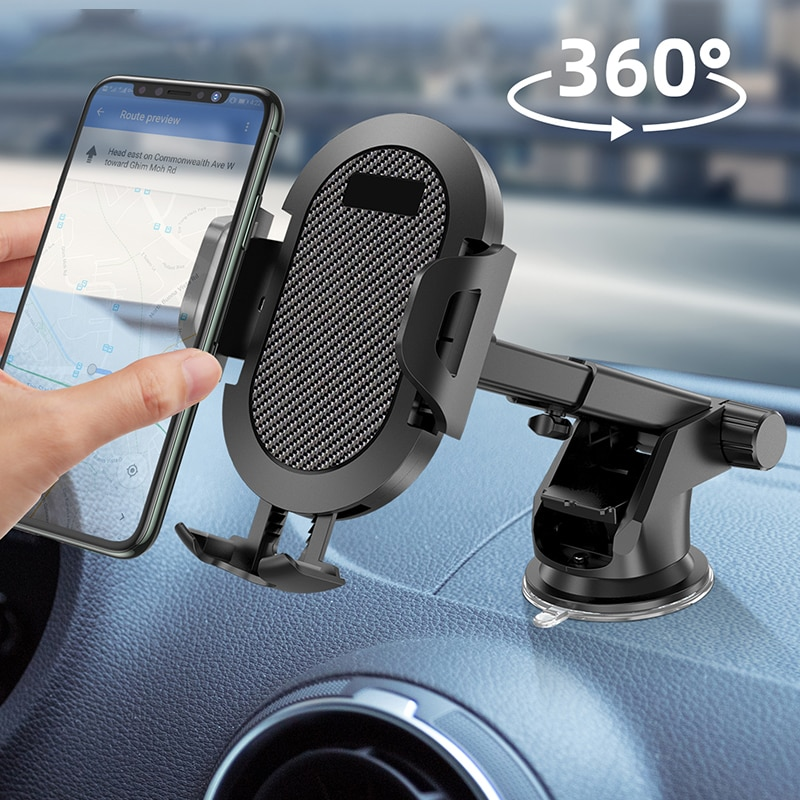 2021 New Car Mobile Phone Holder Mount Stand support cellular Car GPS Mobile Cell Support For iPhone