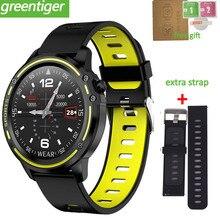 L8 Männer Smart Uhr Wasserdicht kalorien Überwachung SmartWatch Mit EKG PPG Blutdruck Herz Rate Sport Fitness Uhr PK L5 l7