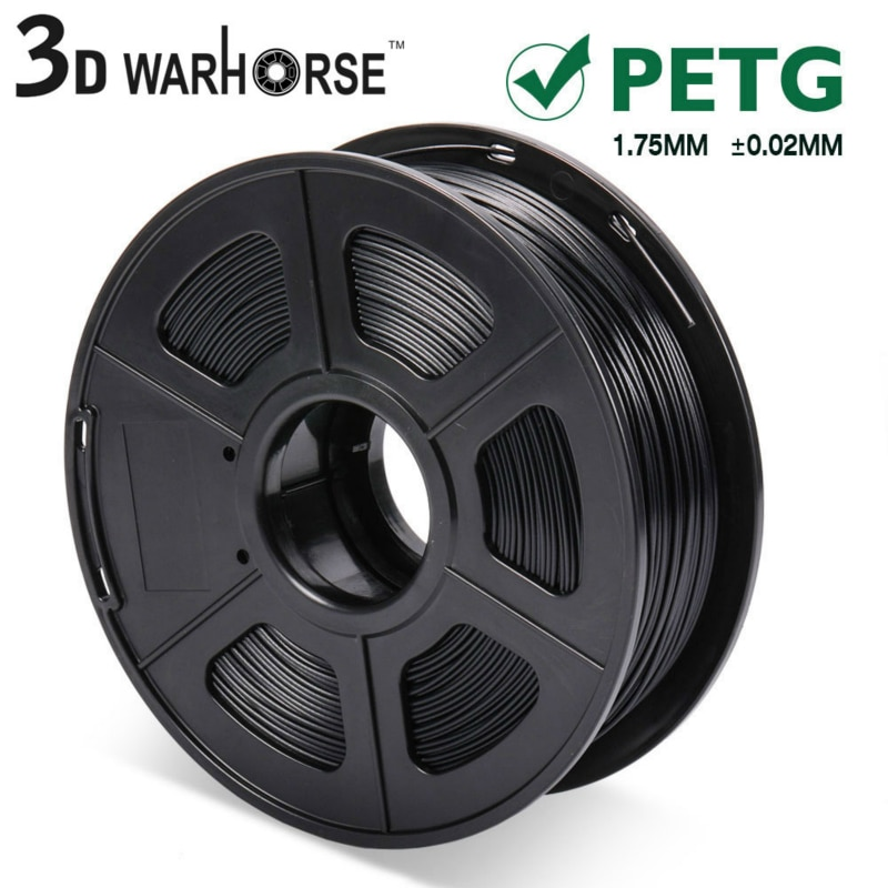 1KG/ Spool 1.75mmTranslucence PETG Filament Printing Material Supplies For 3D Printer Drawing Pens Consumables