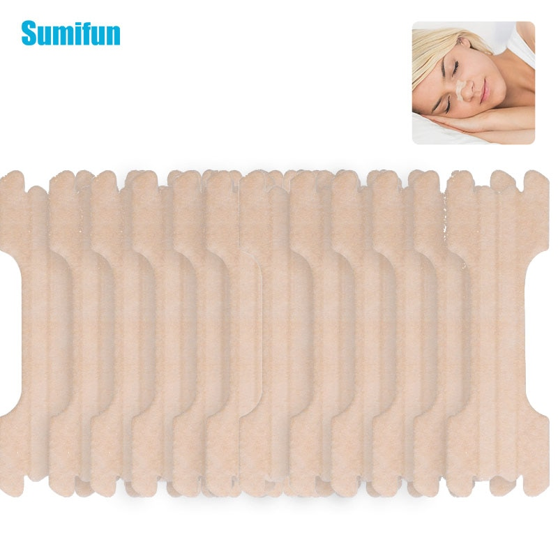1/24/48 pcs Nose Rhinitis Strips Relief Nasal Congestion Snore Stopper Plaster Anti Snoring Stickers
