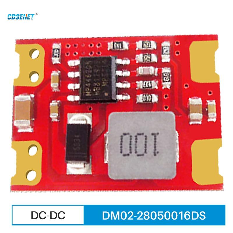 DC-DC понижающий модуль питания 5,5 ~ 28 в, малогабаритное промышленное стандартное беспроводное оборудование для передачи данных
