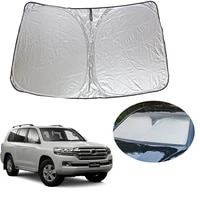 front windshield sunshade car auto uv and sun protection for toyota land cruiser 200 accessories 2008 2020