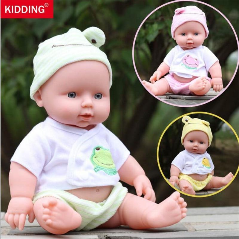 30cm muñeca de silicona Reborn para la venta juguetes blandos bebés niñas juego casa juguetes realista muñeca recién nacido regalo de Navidad