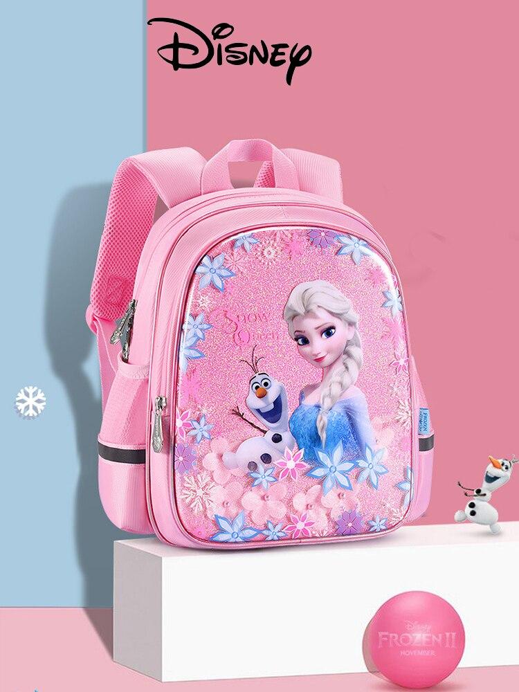 Mochila Disney para niños, niñas, niños, mochilas escolares para niños, mochila de hierro congelado para niños, diseño clásico de Spider-Man Avengers