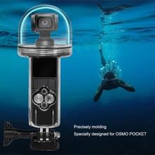 Accessoires de caméra daction de sport pour DJI Osmo poche boîtier étanche coque plongée 60M méthode de fonctionnement livraison directe