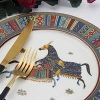 dinner plates bone china dinnerware set and tableware ceramic porcelain serving dish dessert salad