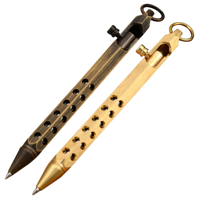 High Quality Portable Tungsten Steel Attack Head Tactical Pen Outdoor Sports Emergency Hiking Self Defense Supplies
