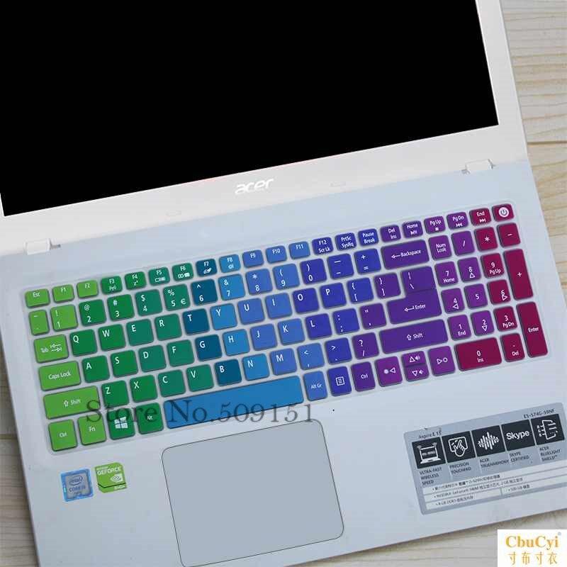 15,6-дюймовый защитный чехол для клавиатуры ноутбука Acer Aspire EX2511G T5000 K50 E5-573G E15 F5-572G E5-552G