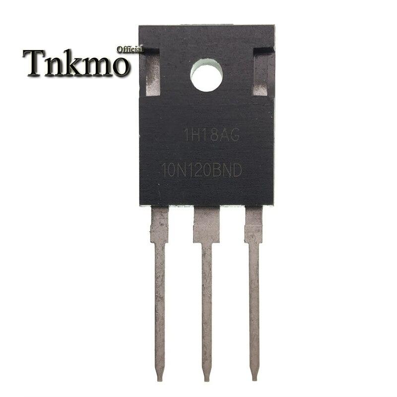 10 Uds HGTG10N120BND-247 HGTG10N120 TO247 10N120BND 10N120 1200V 10A Cocina de Inducción IGBT tubo nuevo y original