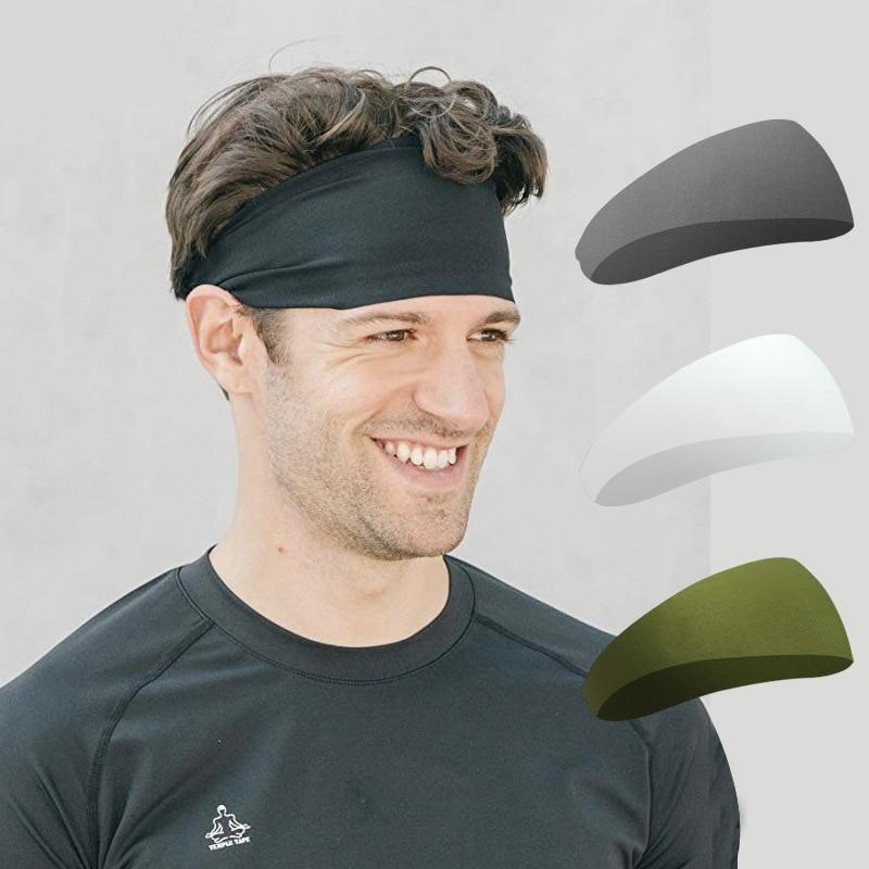 Bandas para el cabello para Yoga lookykit para hombres y mujeres, banda deportiva para correr, diadema de gimnasio, Yoga, Fitness, banda elástica para el cabello
