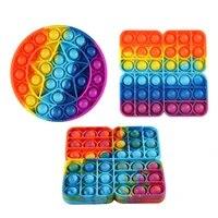 puzzle stress reliever fidget toys push bubble sensory toy for autism needs kids stress reliever educational puzzle toys