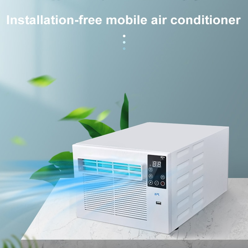 Room Dormitory Portable Air Cooler Remote Control Small Desktop Refrigeration Air Conditioning Fan  Panel Air Conditioning 900W fe413s hermetic filter driers protect refrigeration and air conditioning systems from moisture acids and solid particles