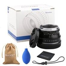 35mm F1.6 APS-C multicapa película revestimiento lente de cámara sin espejo para cámara Fujifilm XT3 XT100 XT20 sin espejo
