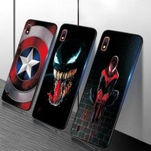 Чехол для Samsung A50 Samsung Galaxy M40 M10 A10 A10S A20 A20S A30 A40 A50 A70 M30S TPU чехол с принтом Человека-паука и Бэтмена