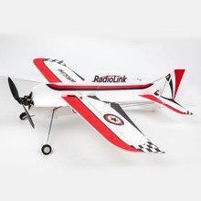 Radyolink A560 560mm kanat açıklığı 3D poli sabit kanatlı RC uçak uçak Drone uçak RTF PNP 2KM acemi için eğitmen FPV uçan