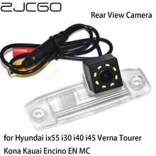 ZJCGO سيارة الرؤية الخلفية عكس احتياطية وقوف السيارات كاميرا للرؤية الليلية لشركة هيونداي ix55 i30 i40 i45 فيرنا تورير كونا كاواي إنسينو EN