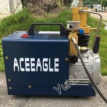 Hoge Druk Lucht Pomp Elektrische Luchtcompressor Voor Pneumatische Luchtdruk Scuba Rifle Pcp Inflator Water En Olie Scheiding Luchtpomp