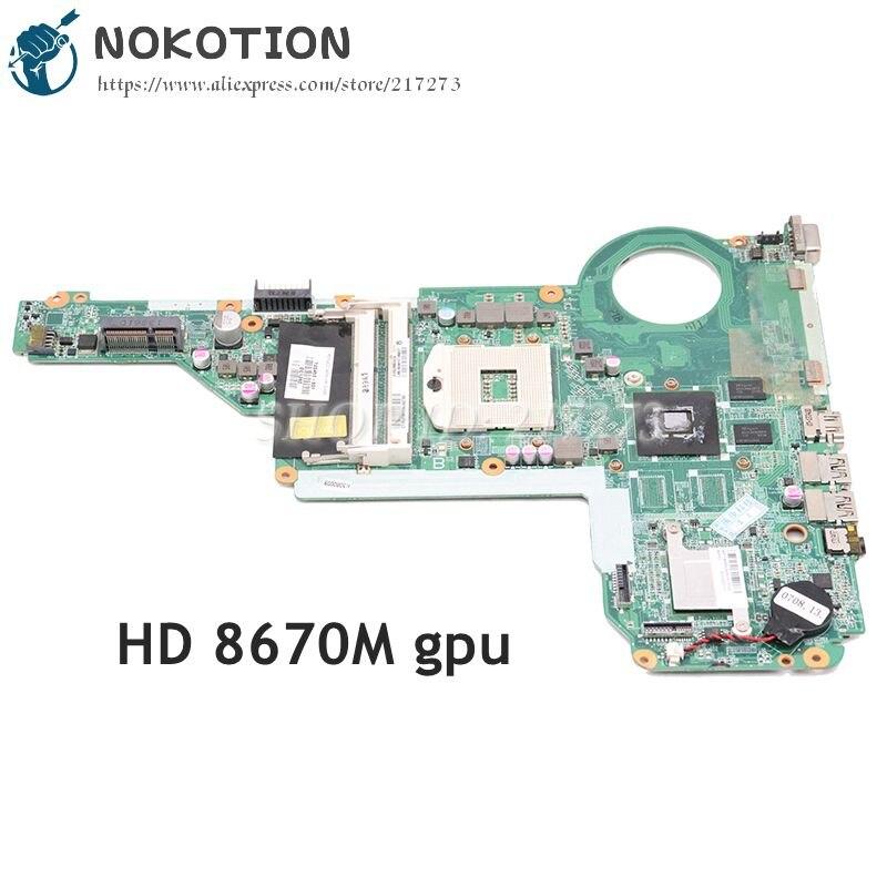 NOKOTION 720459-501 720459-001 DA0R62MB6E1 материнская плата для ноутбука hp Pavilion 15 17 15-E 17-E основная плата HD 8670M DDR3