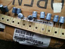 10PCS/30PCS Netherlands BC 036 water blue aluminum shell fever electrolytic capacitor 100UF/50V 50V100UF free shipping